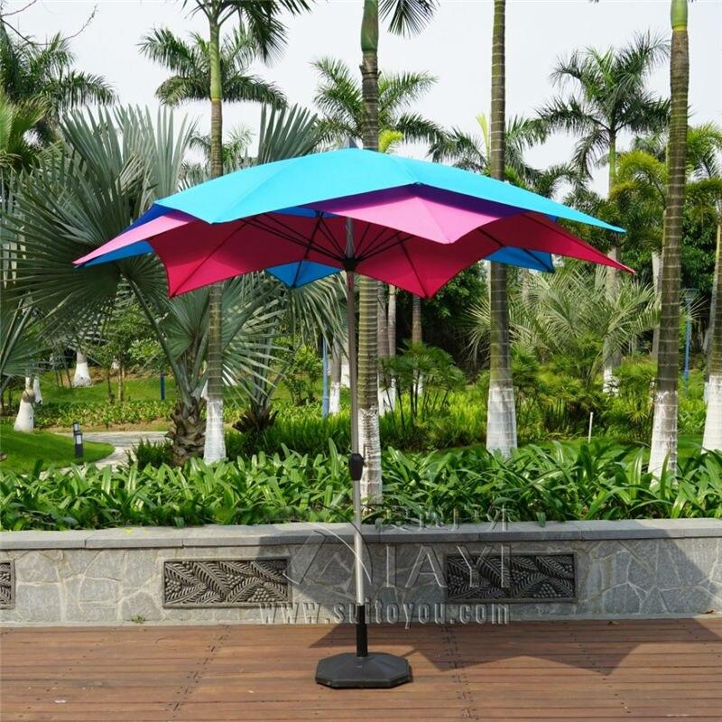 3 meter 10 ribs Lotos patio umbrella garden parasol outdoor furniture  covers sunshade for Christmas decor. Popular Garden Parasols Buy Cheap Garden Parasols lots from China