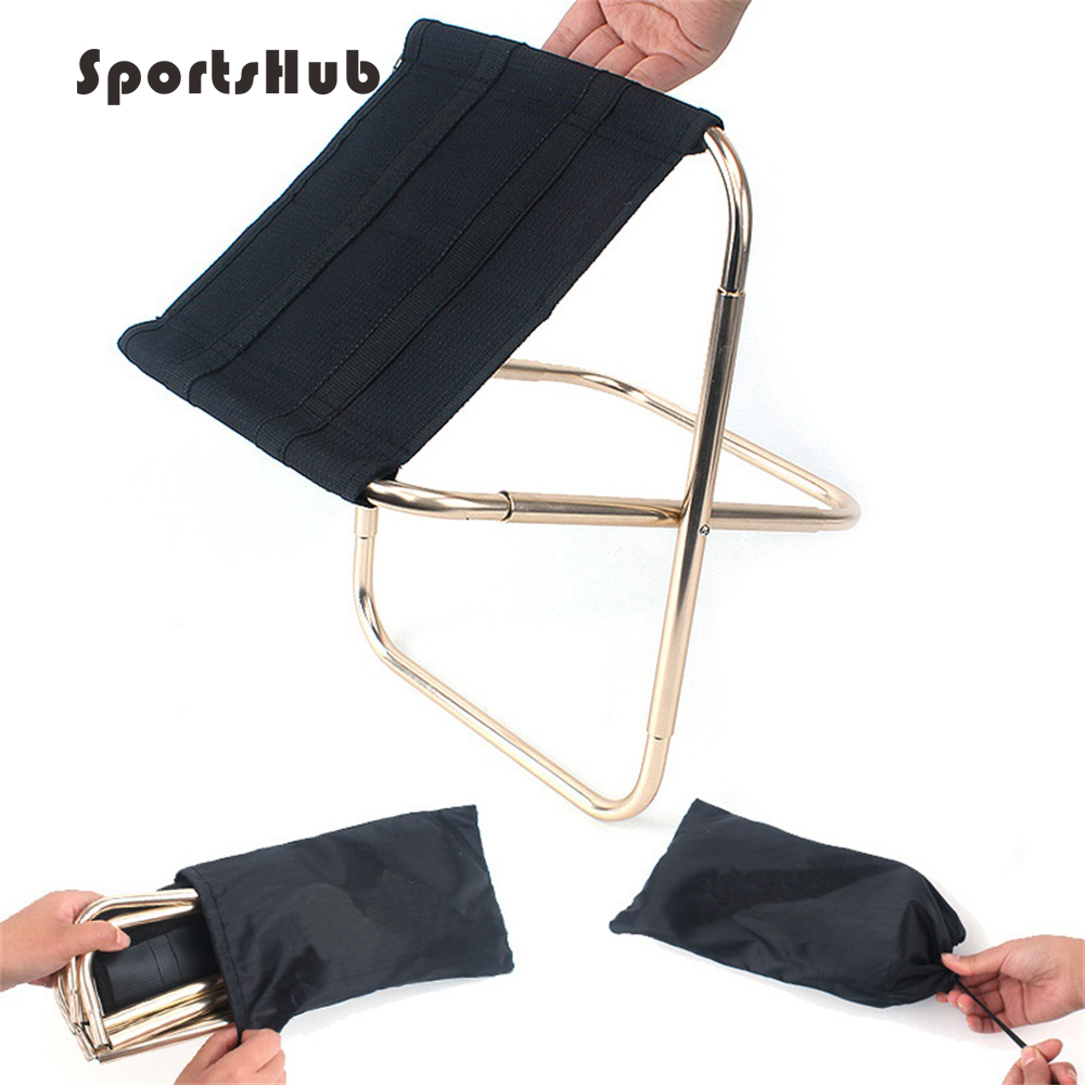Latest Collection Of Sportshub Lightweight Outdoor Fishing Chair Portable Folding Backpacker Oxford Cloth Foldable Picnic Camping Stool Ses0033 Sales Of Quality Assurance