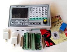 CNC grabado máquina de pasos SMC4 servo controlador de 3 ejes 4 ejes de control off-line de cuatro ejes vinculación