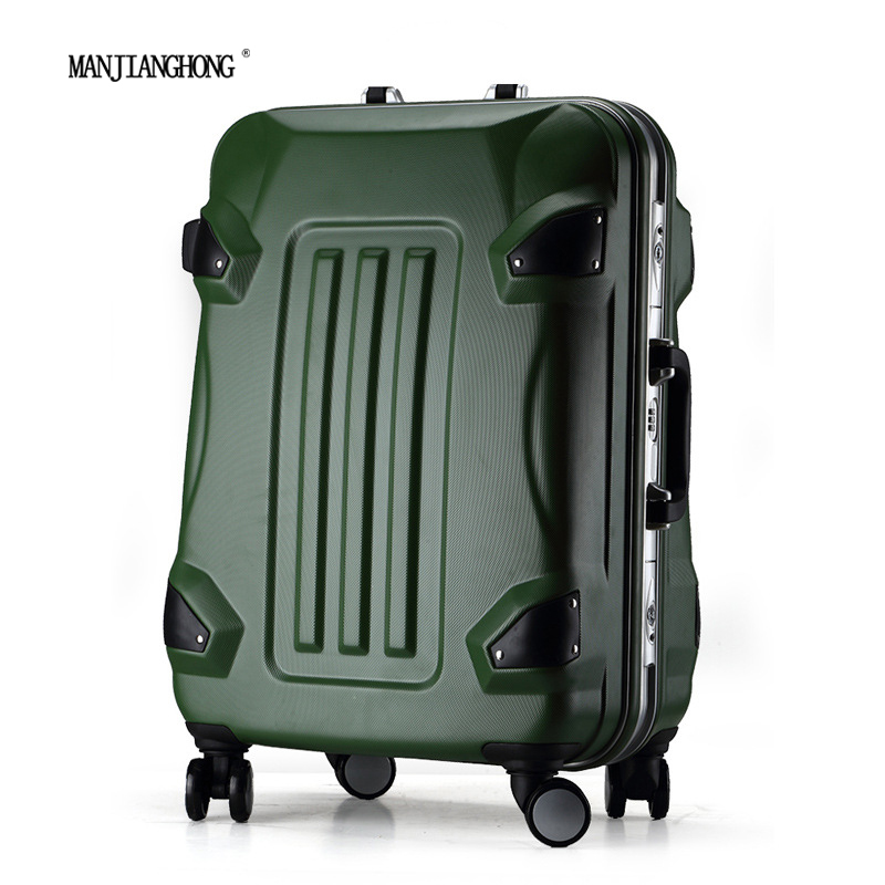 buy manjianghong pc suitcase luggage wheel with brake travel house luggage. Black Bedroom Furniture Sets. Home Design Ideas