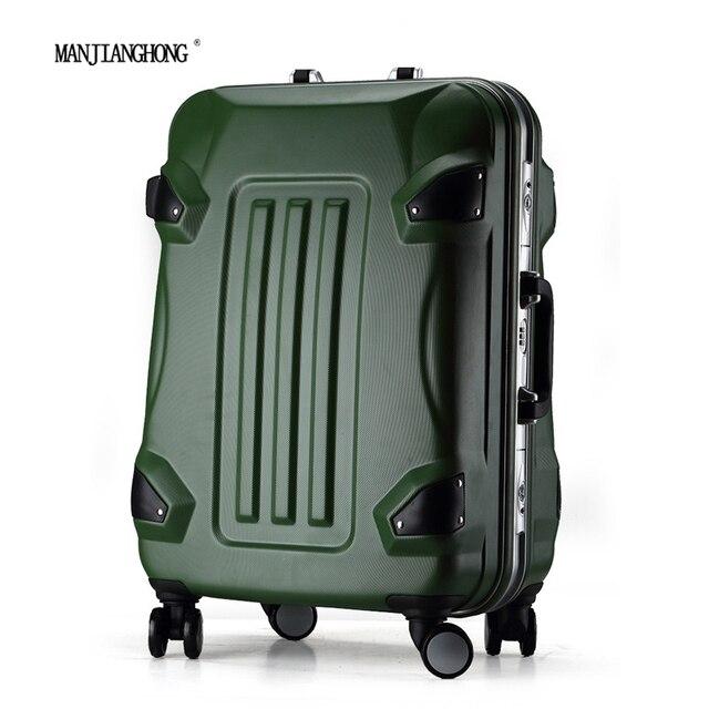 Aliexpress.com : Buy MANJIANGHONG PC suitcase luggage Wheel with ...