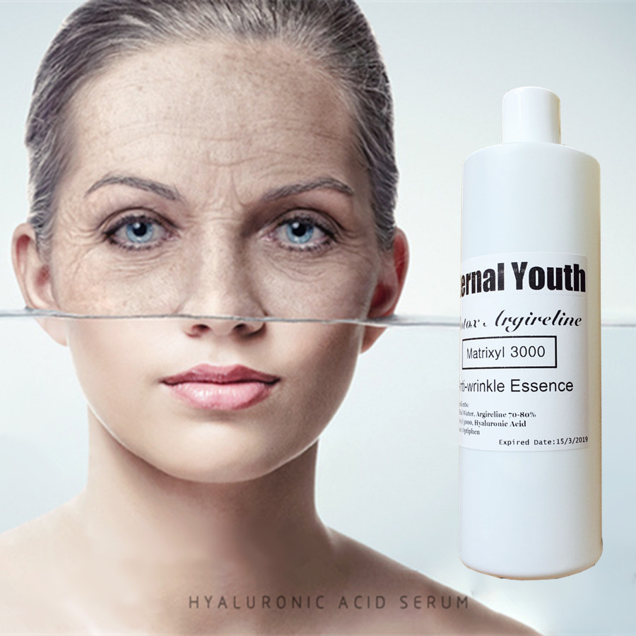 Argireline Matrixyl 3000 Liquid Anti Aging Creotoxin Anti-wrinkle Essence Liquid 1000ml 1kg OEM Semi-finished Skin Care Products argireline matrixyl 3000 peptide cream hyaluronic acid ha wrinkle collagen firm anti aging skin care equipment free shipping