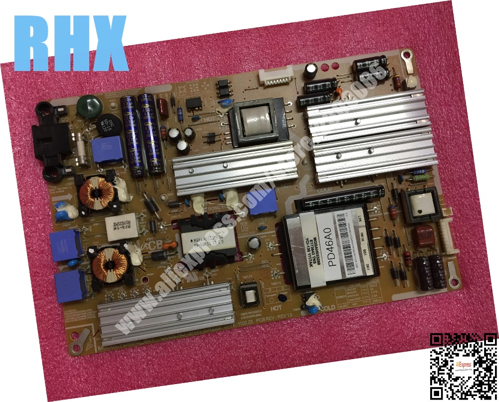 for samsung UA40D5000PR UA46D5000PR LCD TV power supply board PD46A0_BDY BN44-00422B is used lcd tv power driver board lk37k1 special number 0094001295b used disassemble