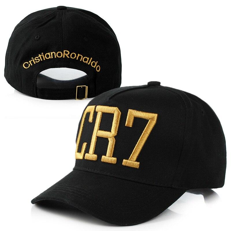 new arrival Cristiano Ronaldo CR7 Hats   Baseball     Caps   Hip Hop   Cap   Snapback Hat for Men Women sun hats High Quality