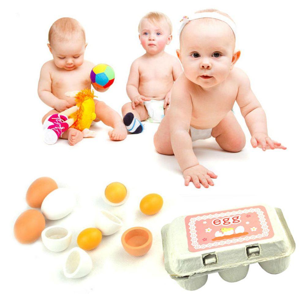 1 Set Kid Pretend Play Toy Yolk Kitchen Cooking Preschool ...