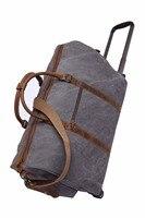 Новый Водонепроницаемый Чемодан сумка толщиной Стиль Rolling чемодан тележка Чемодан Для женщин и Для мужчин дорожные сумки чемодан с колесам