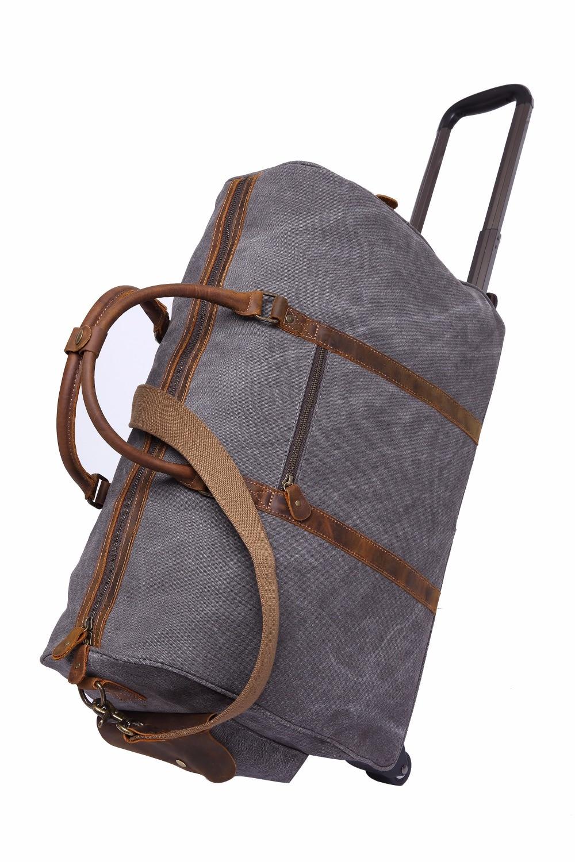 Новый Водонепроницаемый Чемодан сумка толщиной Стиль Rolling чемодан тележка Чемодан Для женщин и Для мужчин дорожные сумки чемодан с колесами