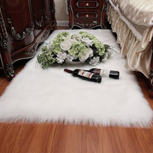 Faux Fur Sheepskin Soft Rug Carpet 5 Colors
