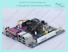 D525p 2 * сетевой карты 6 * COM ITX мини-компьютер материнская плата HTPC Поддержка WI-FI 4 * USB Интерфейс Новый доска 100% тестирование совершенной качественно