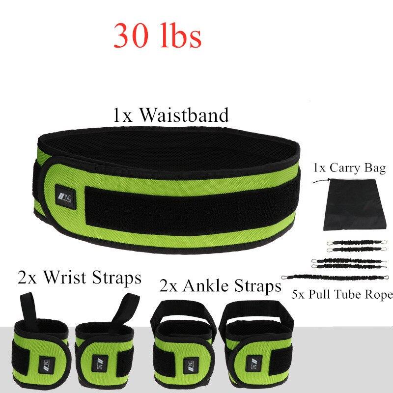 Rebond formateur corde élastique résistance bandes Fitness extenseur basket-ball saut entraînement jambe étirement agilité entraînement Gym Roe - 5