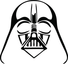 Darth Vader Wall Sticker Decal - Star Wars - Empire - Car, Tablet, Window, Boat size 22inch Free shipping(China (Mainland))