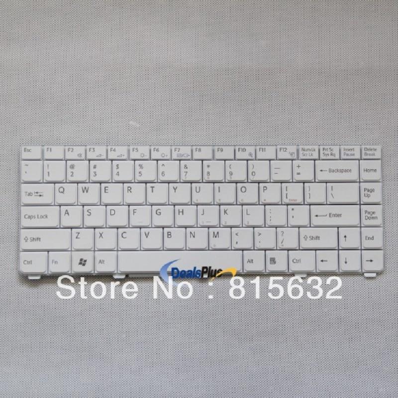 Laptop US keyboard for Sony VIAO VGN-C 147996323 white парик косплей ecoolike 2015 28 70 lr1127