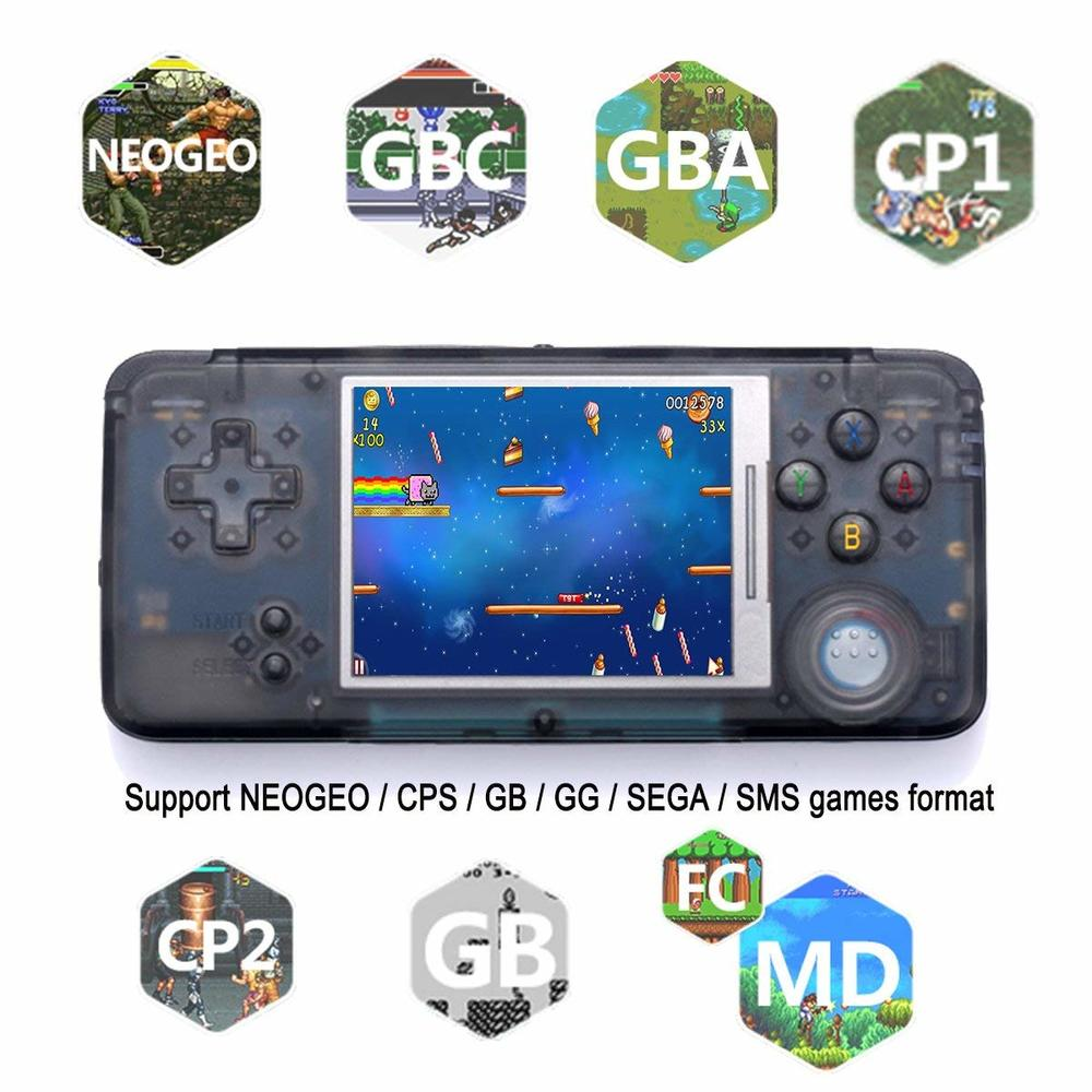 Zorx Portable Mini Retro Classic Handheld Game Console Video Gaming Music Players Built-in 818 Childhood Games for Snes 16 Bit new retro game console 32 bit portable mini handheld game players built in 940 for pokemon gbc classic games best gift for kids