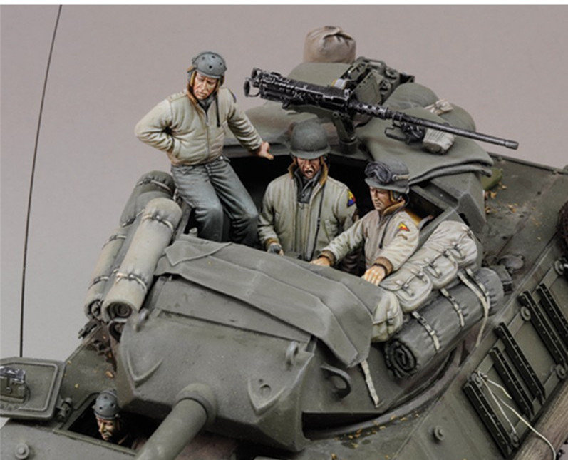 1/35 Resin Figure Model Kit Unassambled Unpainted 00281