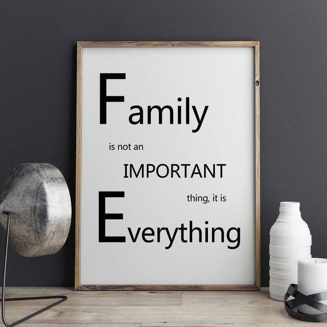 Family quotes painting poster wall pictures wedding decoration family quotes painting poster wall pictures wedding decoration living roomart paper for procrastination wall junglespirit Choice Image
