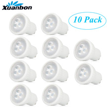 10 Pcs Led Lamp Mini Gu10 35 Mm Spotlight 3W 220 V 110 V Mr11 Spot 120 Hoek Voor woonkamer Slaapkamer Tafellamp Smd Indoor Verlichting