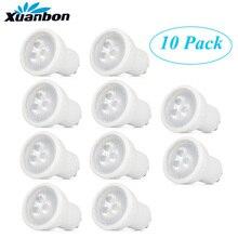 10PCS led lampe mini gu10 35mm scheinwerfer 3W 220v 110v mr11 spot 120 winkel für wohnzimmer schlafzimmer tisch lampe SMD Indoor lichter