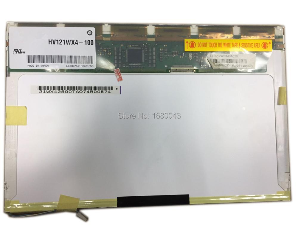 HV121WX4-100 fit HV121WX4-120 IPS 20 PIN LCD SCREEN Panel 12.1 inch LCD SCREEN hld1509 010160 lcd screen 100