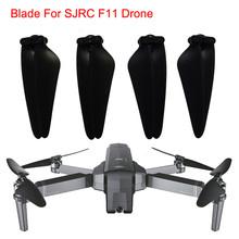 4pc SJRC F11 GPS części zamienne do quadcoptera RC łopata śmigła śmigła dla SJRC F11 GPS RC Quadcopter Drone tanie tanio HIINST Materiał kompozytowy dji drone accessories UAV Accessories Pojazdów i zabawki zdalnie sterowane Kv1100 Śmigłowce