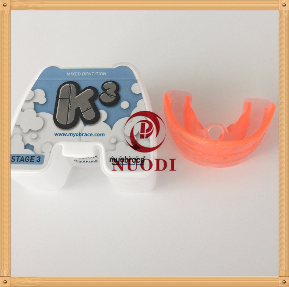 Anterior crowing Teeth Trainer K3/MRC Orthodontic teeth trainer K3/Kids teeth brace K3 for 5-10 years old original k3 teeth trainer myobrace for kids orthodontic brace k3 mrc dental orthodontic teeth trainer appliance
