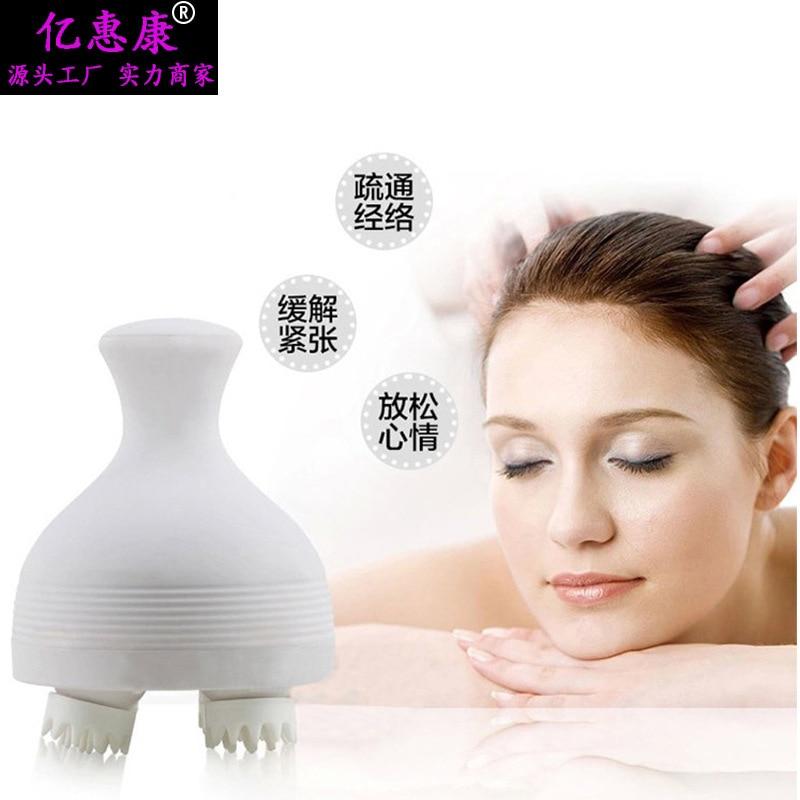 Head massager, electric scalp massage apparatus, shampoo, waterproof brain 4d massager