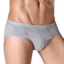 Mens Underwear Sexy Gay Brief Underpants Modal Comfortable Cotton Briefs jockstrap cueca masculina
