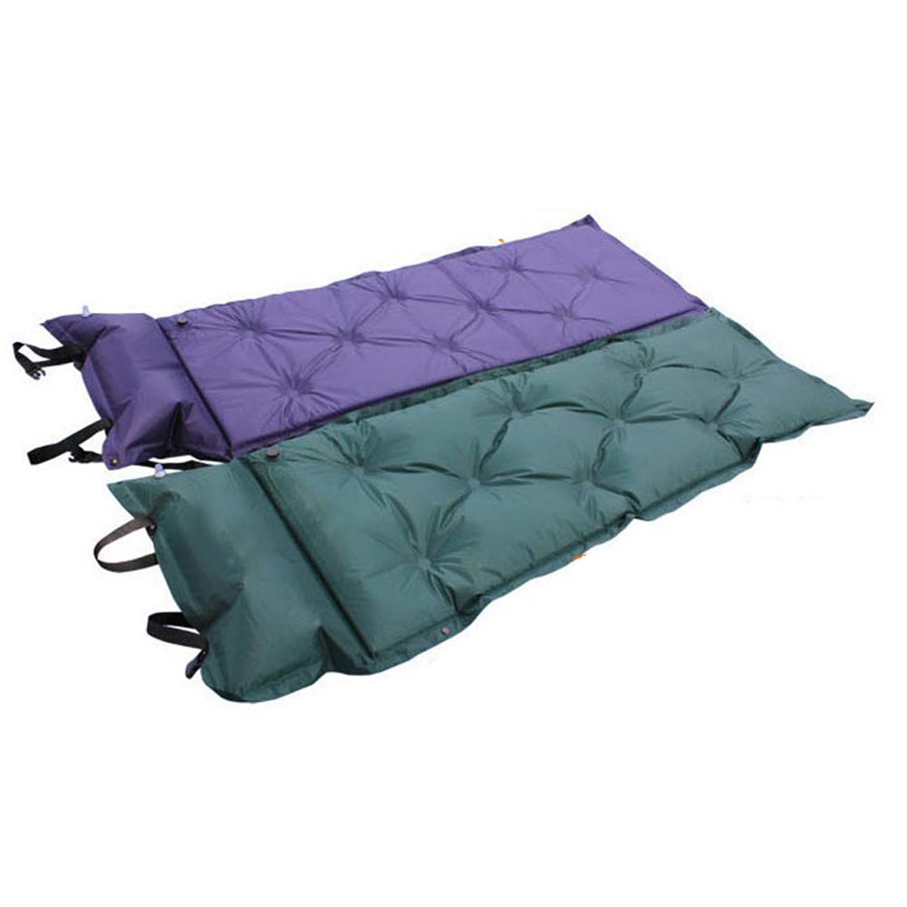 Outdoor Camping Mat Waterproof Automatic Inflatable Camping Mat  Self-Inflating Dampproof Sleeping Pad Tent Air