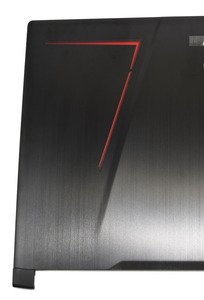 Image 3 - מקורי חדש עבור MSI GE73 GE73VR 7RF 006CN מחשב נייד מקרה LCD כיסוי אחורי כיסוי אחורי מכסה שחור וקדמי לוח כיסוי 3077C1A213HG017
