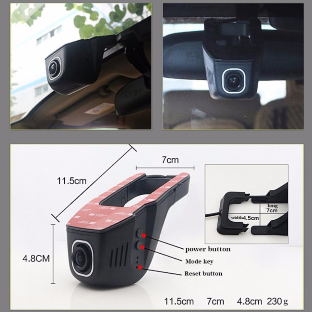 For Nissan Frontier / Registrator Dash Cam Original Style / Car Mini DVR Driving Video Recorder Control Wifi Camera Black Box for peugeot 2008 car driving video recorder dvr mini control app wifi camera black box registrator dash cam original style