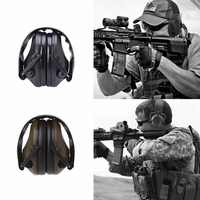 Anti-bruit électronique cache-oreilles Protection tir chasse Sport tactique