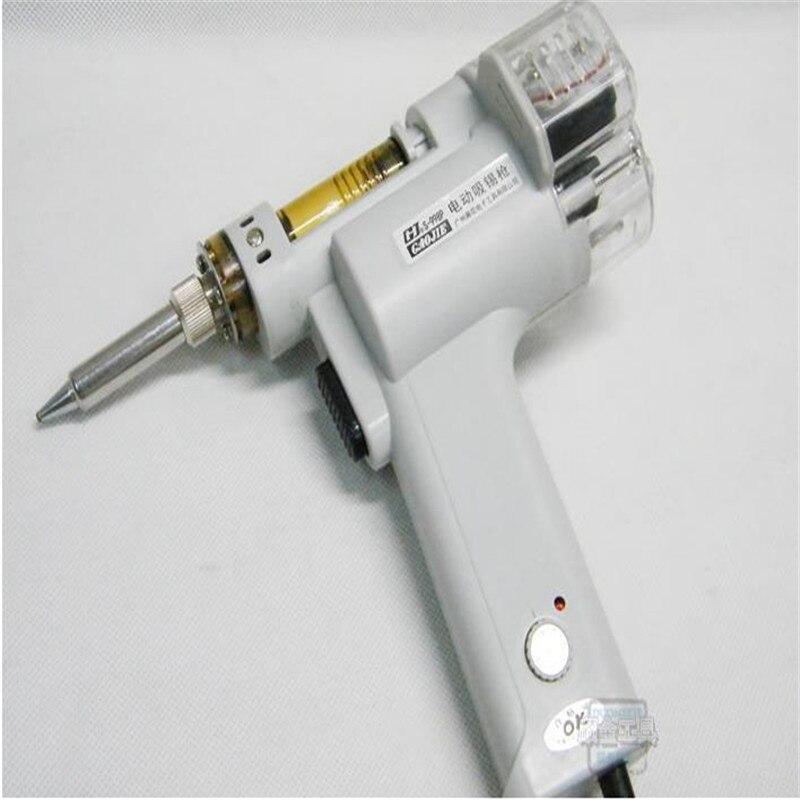 Gun  Absorb Suction 110 Pump Desoldering Gun 998P Electric Solder Automatic 100W Tin Electric Double Vacuum Sucker S 220V