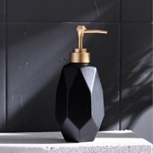 1pc Nordic Creative Hand Sanitizer Bottle Ceramic Lotion Bottle Soap Dispenser Hotel Clubhouse Bathroom supplies