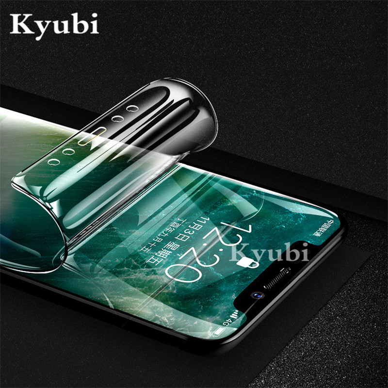 Ultra thin Hydrogel Full Cover Screen Protector For Asus ZB570KL ZB631KL ZB633KL ZC600KL ZS600KL Protective Full Body Soft film