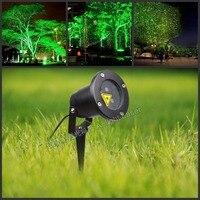 Afstandsbediening Outdoor LED Tuinverlichting IP65 Waterdichte Groene laser 30 mw Rode laser 100 mw LED Gazon Licht Lamp Voor Tuin licht