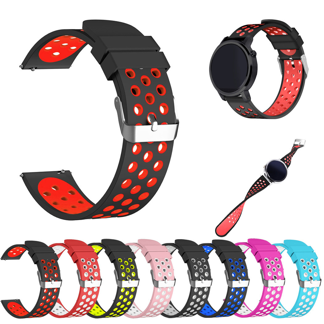 Silicone Bracelet Strap Watch Band For Samsung Gear S3 Frontier/Classic 22mm New gear s3 frontier silicone rubber watchbands 18 colors rubber wrist strap for samsung gear s3 frontier silicone watch band for samsung gear s3 classic bracelet band 22mm
