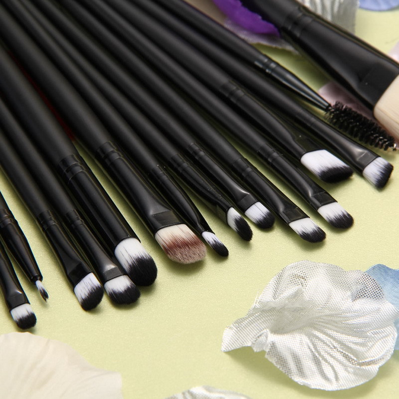 15pcs/Set Professional Makeup Brushes Eyeshadow Eyebrow Liquid Lip Powder Foundation Brush Cosmetics Makeup Brushes Sets