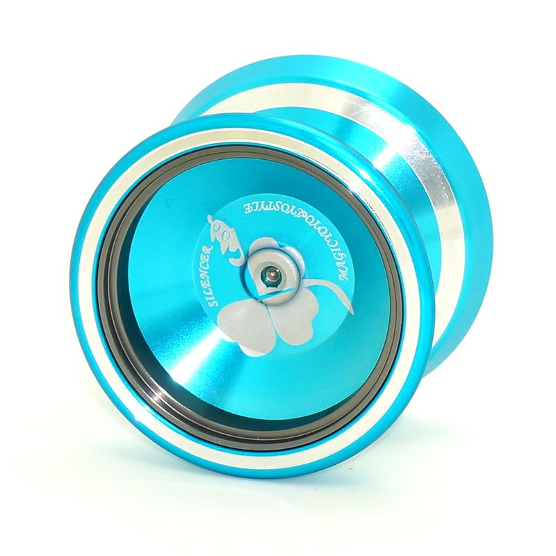 Yoyos time limited 8 years old glue sticker mini 1a magicyoyo 2016 new silencer m001 yo yo ball aluminum alloy professional in yoyos from toys hobbies