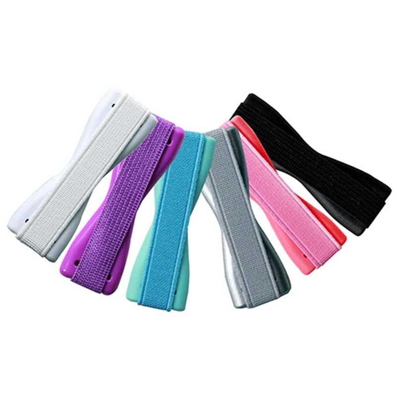 2019 Новый модный универсальный держатель для телефона на палец пластиковая эластичная лента для телефона противоскользящая Подставка для планшета мобильного телефона