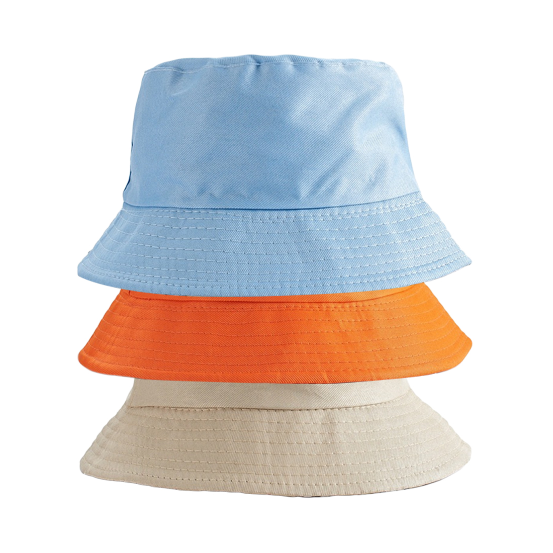 Lovers Double sided  wear bucket hat  Retro cotton fishing Hat Quality sunscreen Flat Ladies Sun Hat