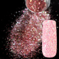 Sparkle Rose Red Glitter Nail Art Mix Size and Color Glitter DIY Manicure Decoration Powder Transparents Nail Salon Products 255