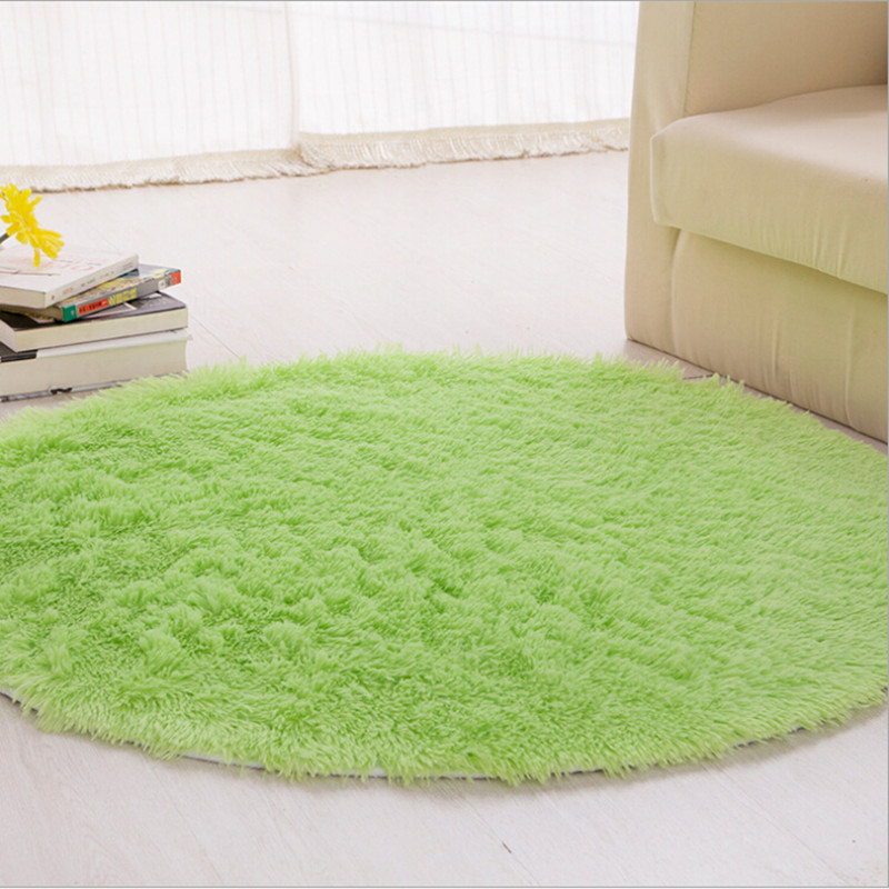 160 * 160 cm Gran cantidad Moda alfombra super suave / alfombra de - Textiles para el hogar