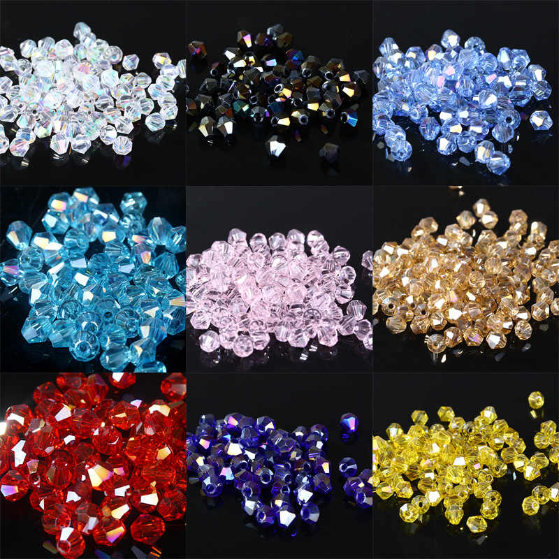 Detail Feedback Questions about TianBo 4mm 1000pcs AAA Bicone Upscale Austrian  crystal beads AB color plating Loose bead bracelet Jewelry Making  Accessories ... ce4de8ff164c