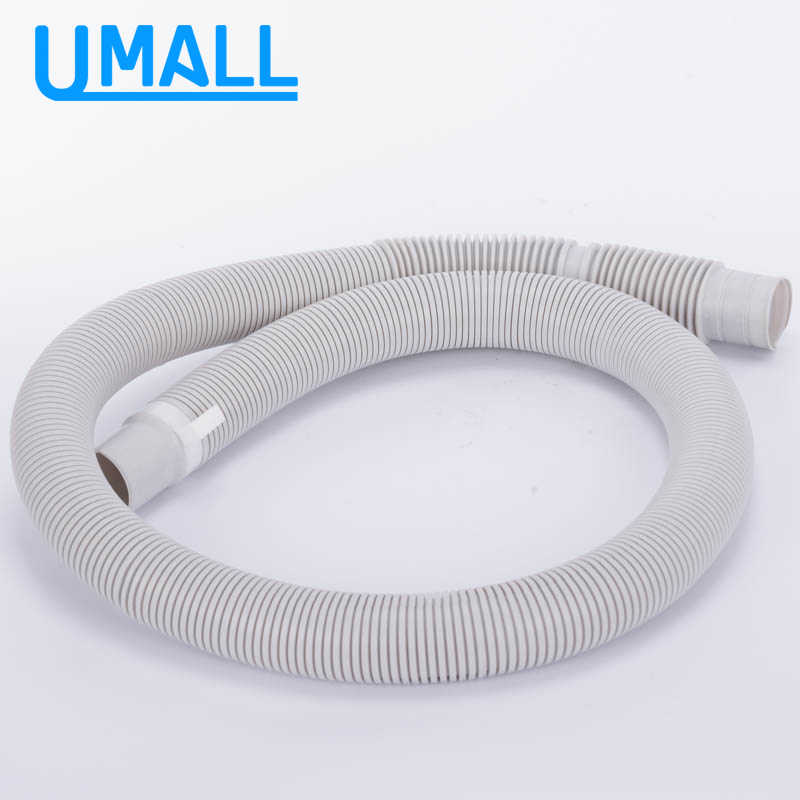 washing machine water drain pump pipe outlet fitting soft discharge hose home laundry appliance replacement parts