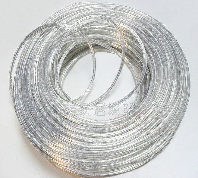 Two wire power cord chandelier lighting accessories DIY transparent ...
