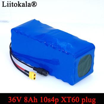 Liitokala 36 V 8Ah 10S4P 18650 аккумуляторная батарея, модифицированные велосипеды, Электромобиль 42 v защита с BMS резервного питания