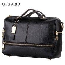 CHISPAULO Frauen Taschen 2017 Marke Designer-handtaschen Hohe Qualität Frauen Echtem Leder handtaschen Frauen Messenger Crossbody Taschen X39
