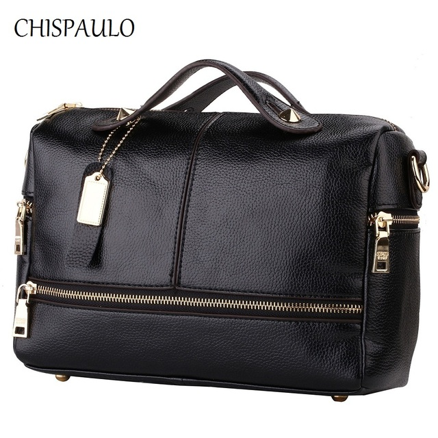 Luxury Brand Handbags Women Bags Designer Genuine Leather For 2017 Messenger Casual Las
