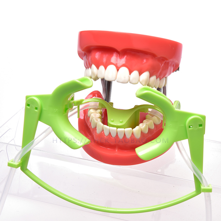 1pc Orthodontic Cheek Retractor with Salive Suction Function Mouth Opener Suit for Teeth Whitening and Orthodontic deasin high quality 1pc dental oral photographic orthodontic implant lip cheek retractor opener tool