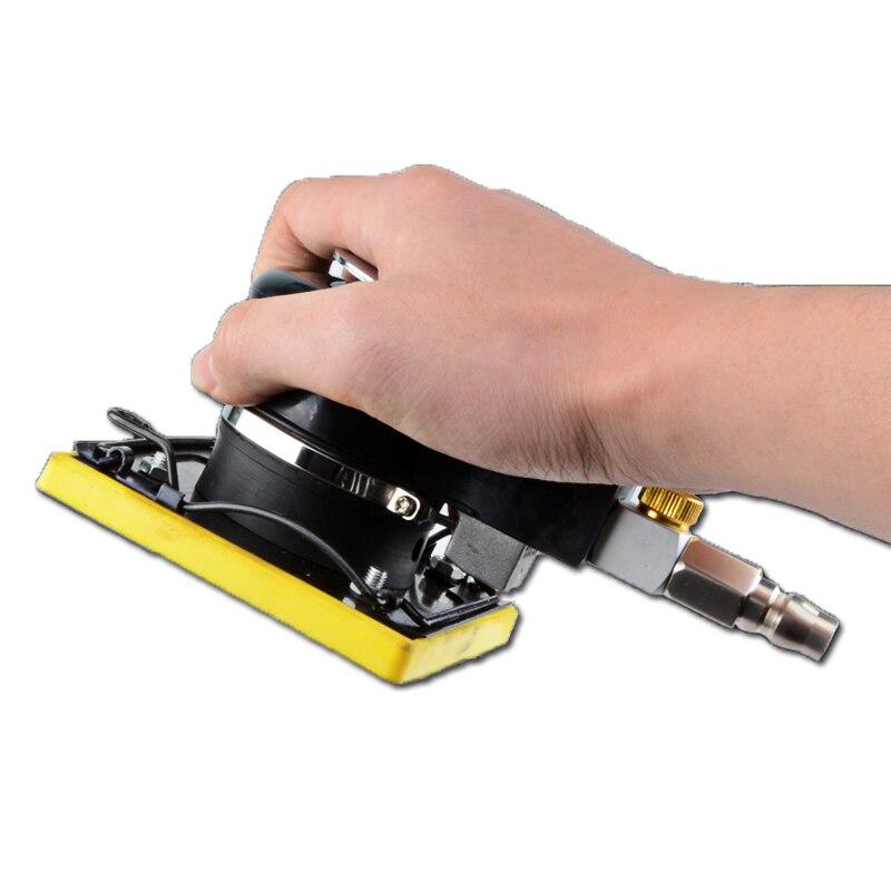 Square grinder pneumatic polishing machine square pad pneumatic grinding machine pneumatic sandpaper machine pneumatic tools
