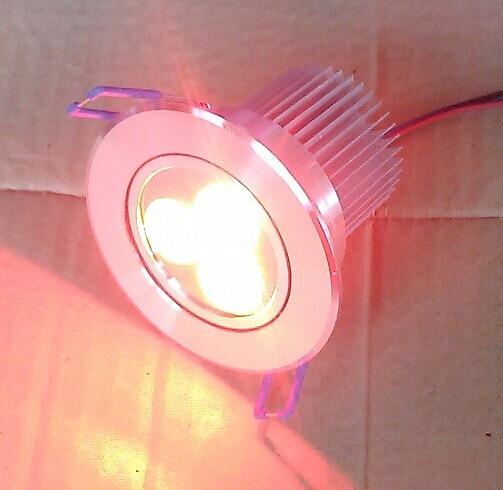 transport gratuit în America de Nord 4wires rgb 3in1 3X3W led plafon - Iluminatul interior - Fotografie 3
